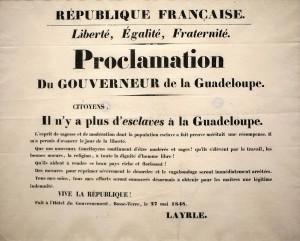 proclamation du gouverneur
